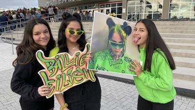 Billie Eilish at the AAA 3.9