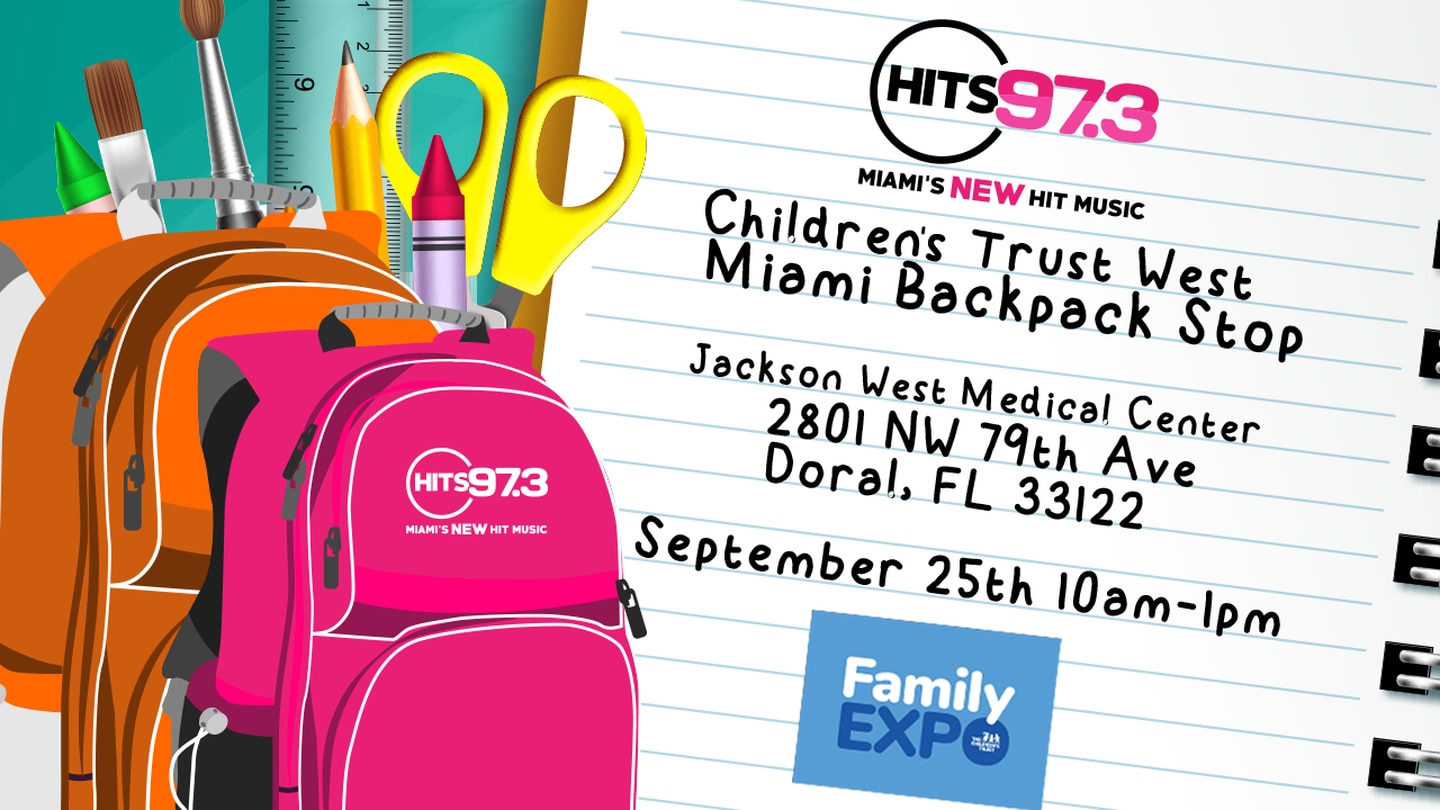HITS 97.3 Backpack Event in West Miami-Dade