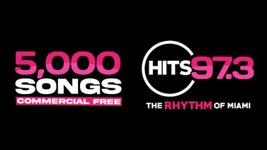 HITS 97.3 is playing 5,000 songs, commercial FREE!